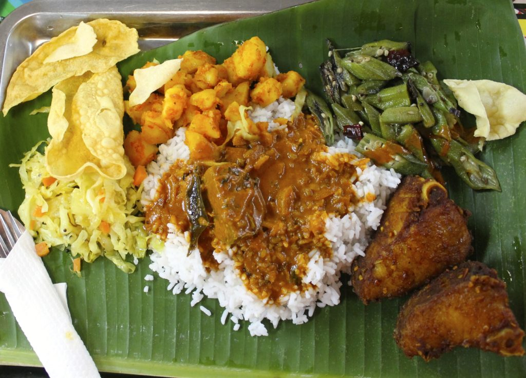 Brickfields Mathai's banana leaf/fried fish