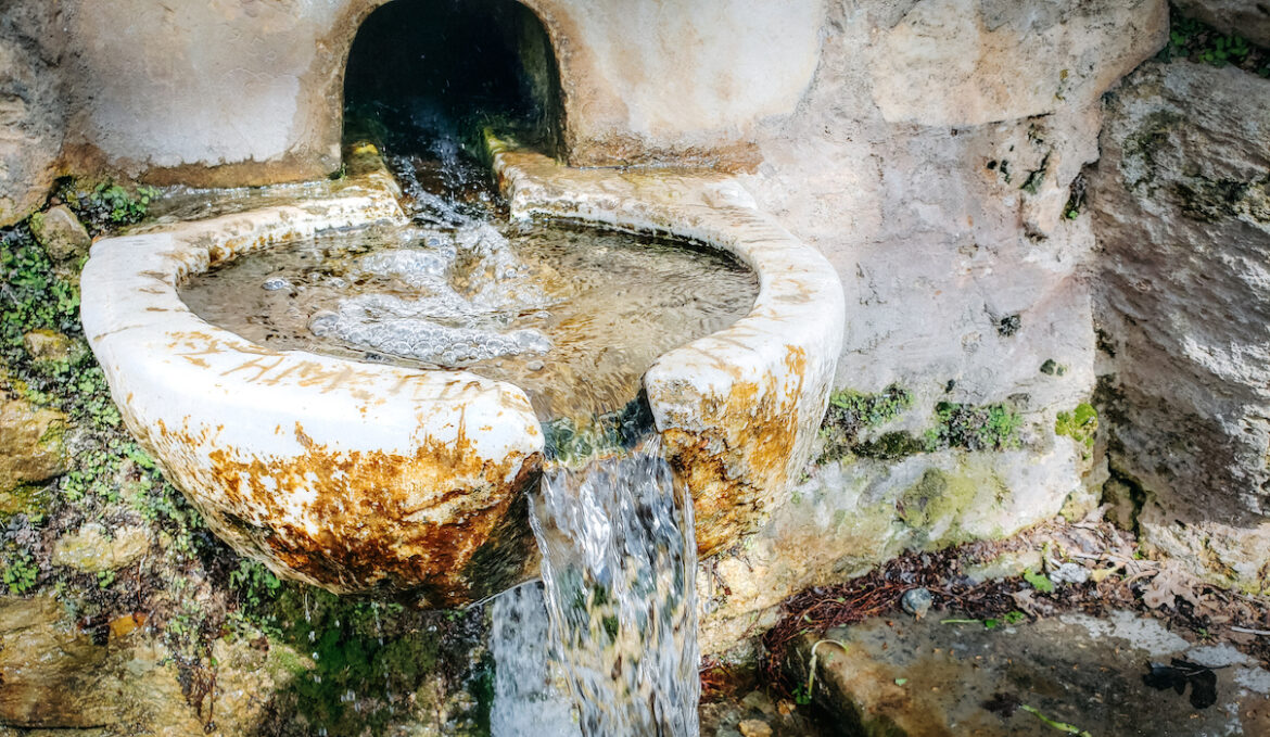 Or take a tour to Aria Spring via ancient trails and marble walkways from Filoti Village
